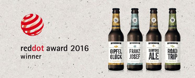 Hopfmeister Reddot Award 2016