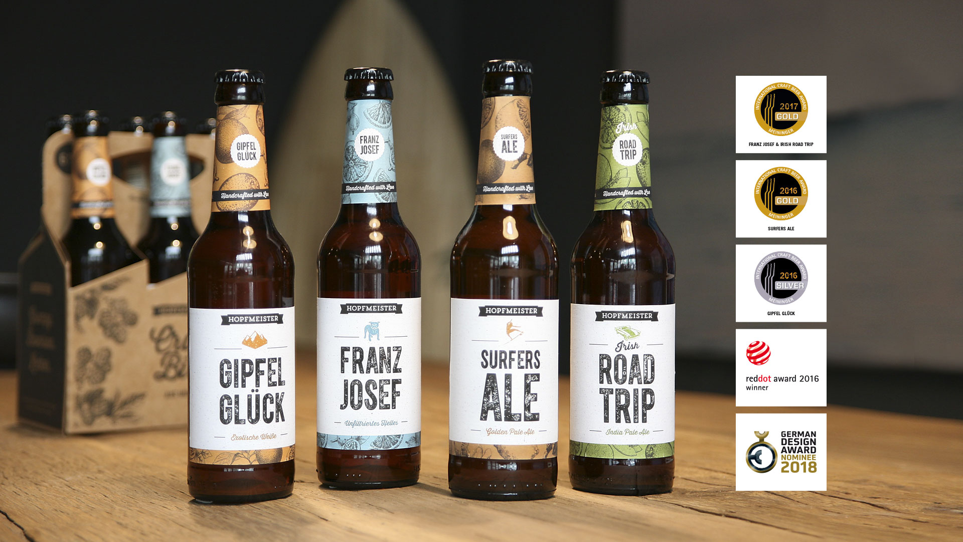 Hopfmeister Always Biere