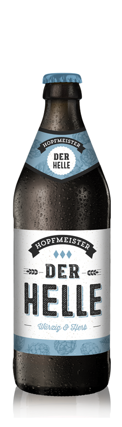 Der Helle Herbes Helles Craftbeer von Hopfmeister