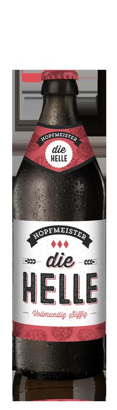 Die Helle Mildes Helles Craftbeer von Hopfmeister