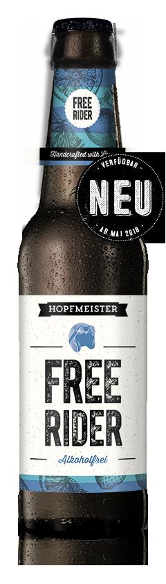 Free Rider Alkoholfreies Helles NEU Craftbeer von Hopfmeister