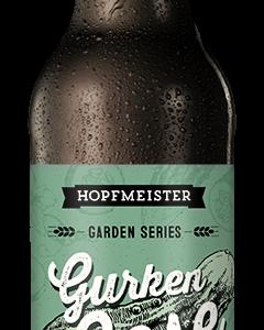 Garden Series Gose mit frischen Gurken Craftbeer von Hopfmeister