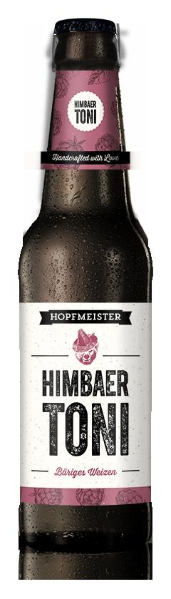 Himbaer Toni Bäriges Weizen Craftbeer von Hopfmeister
