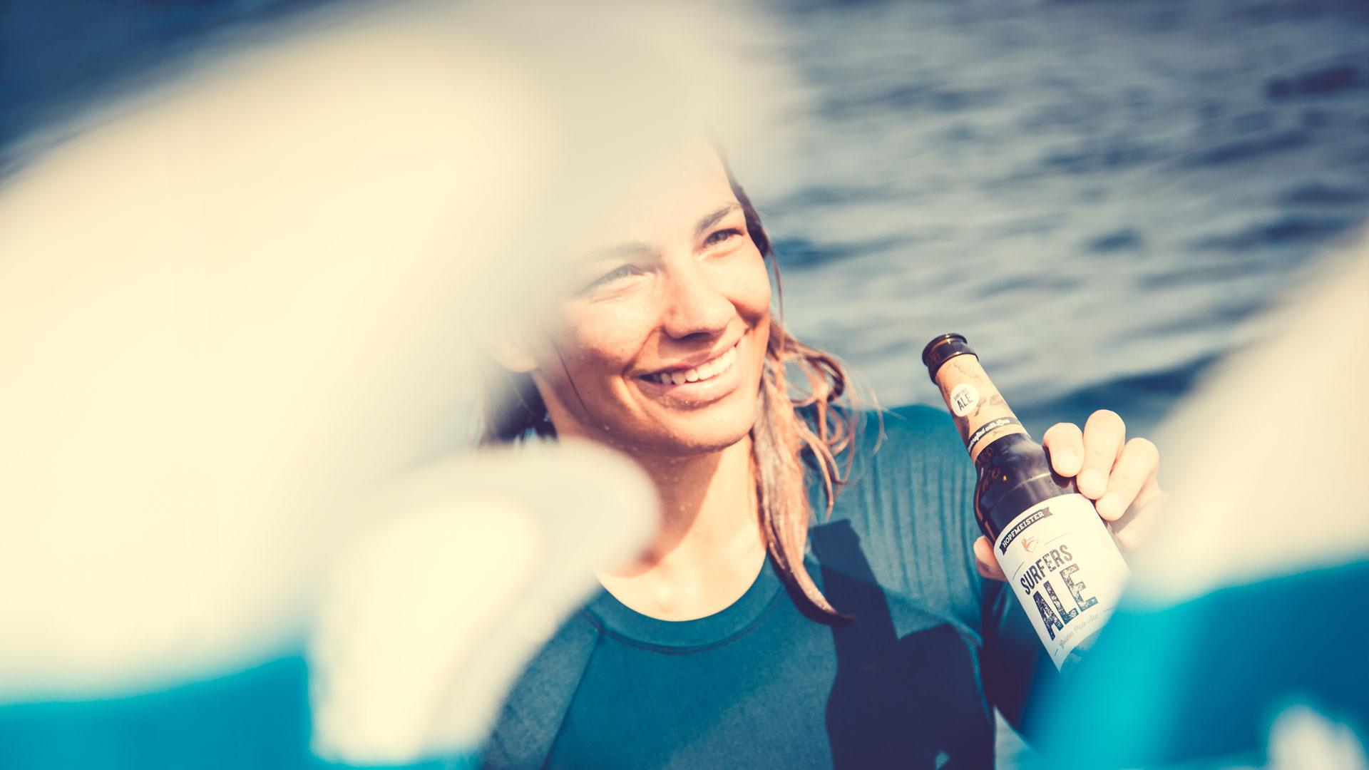 Hopfmeister Surfersale Bier